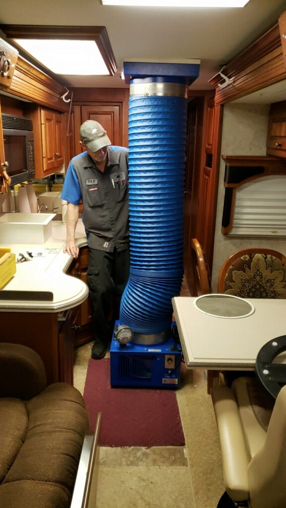 Discover That Stubborn Rv Leak With Sealtech Leak Testing